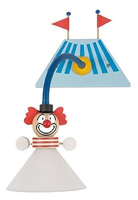 Niermann-Standby 328 - Wand-Leseleuchte Clown, E14,230 Volt, Flexrohr 30 cm ca. 180 cm Zuleitung mit Zwischenschalter inklusive Leuchtmittel von Niermann Standby bei Lampenhans.de