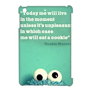 """The Muppets Cookie Monster"" 3D Hard Plastic Back Case Cover for iPad Mini I9300-TOC-04052"