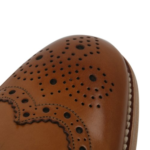 Loake Fearnley Brogues Tan