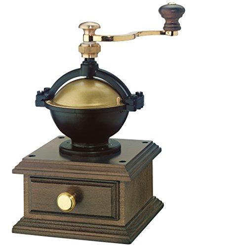 Zassenhaus 0000040128 Kaffeemühle La Paz dunkel gebeizt, Holz, braun, 14,5 x 23,4 x 14,5 cm