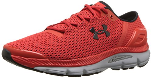 Under Armour Herren Speedform Intake 2 Laufschuhe, Rot Radio Red/Overcast Gray/Black, 44 EU