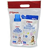 Pigeon Laundry Liquid Detergent Bottle, 600ml with Refill, 500ml