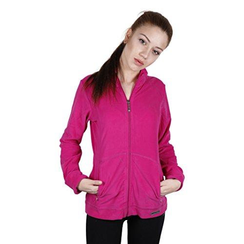 Champion Damen Sweatshirt-Jacke mit Reißverschluss Fuchsia