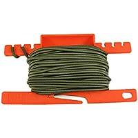 PSKOOK Schock Bungee Cord Elastic Rope mit Einem Multifunktionalen Spule Werkzeug für Outdoor Survival 1/8inch 3 mm
