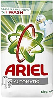 Ariel Automatic Powder Laundry Detergent, Original Scent, 6 KG