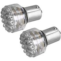 SODIAL(R) 2 X Bombillas 24 LED Luz de Freno Trasera para Coche