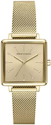 Armani Exchange Ladies Wrist Watch, Gold