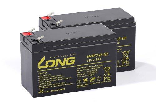 USV Akkusatz kompatibel ONLINE ZINTO B 800 AGM Blei Accu Batterie Notstrom UPS -