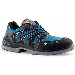 Dunlop Sport Racer - Zapatos de protección laboral S1P SRC, talla 42, color azul