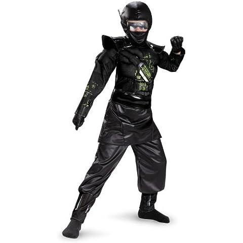 Costume bambino deluxe costume ninja c.o.r.e.
