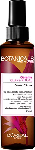 Botanicals Haarpflege Haarglanz Fresh Care Geranie Glanz-Ritual, Special: Glanz-Elixier für...