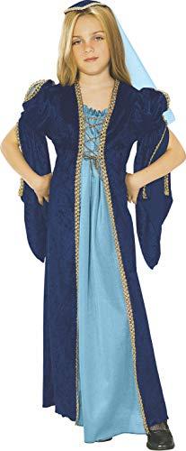 Rubie's Juliet Mittelalterliches Kinderkostüm für Mädchen (Masquerade Kostüm Kinder)