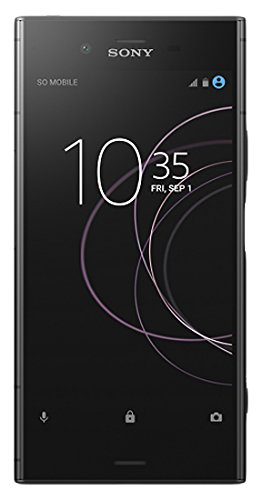 "Sony Xperia XZ1 - Smartphone de 5.2"" (Bluetooth, Octa Core Snapdragon 835, 4 GB de RAM, memoria interna de 64 GB, cámara de 19 MP, Android), color negro"