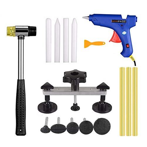 DAXGD Kit de Débosselage sans Peinture de la Carrosserie, Outils d'extracteur de dent avec Pistolet...