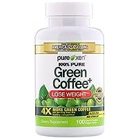 مكمل غذائي من القهوة الخضراء من بيورلي انسبايرد، 100 قرص نباتي