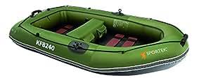 Sportek KFB240 Bateau de pêche gonflable mixte Vert
