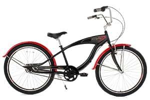 Beach cruiser 26'' Manticore noir KS Cycling