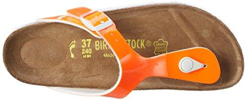 BirkenstockGizeh Birko-Flor - Infradito Donna Arancione (Orange (Neon Orange Lack))