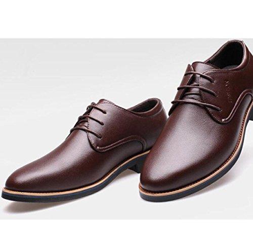 Le Scarpe Da Uomo Britanniche Scarpe Scarpe D'affari In Autunno Bassa Per Aiutare Scarpe Casual Scarpe Abiti Traspiranti Brown