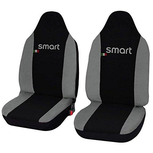 Lupex Shop Smart.1s_N.Gc Coprisedili, Nero/Grigio Chiaro