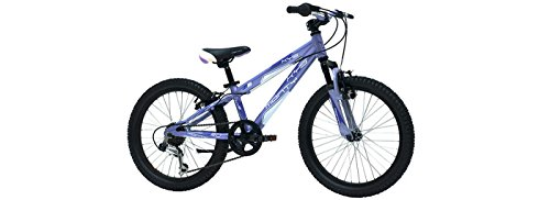 Monty KY5 - Bicicleta de montaña para niño, color lila, 10' / 20'