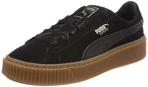 Puma Suede Classic Bubble Wn's, Zapatillas para Mujer, Negro (Puma Black), 38 EU