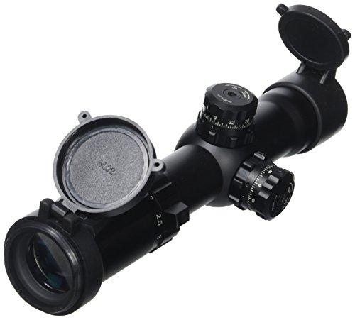 UTG lunette 1-4.5 x 28 accushot avec réticule mil-dot sCP 3-145IEMDQ