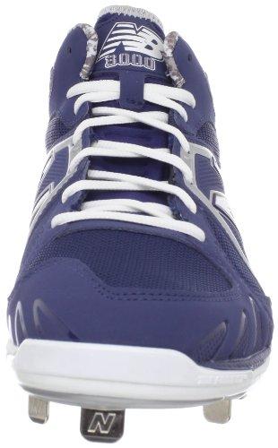 New Balance - Mens 3000 Cushioning Baseball Shoes Blue with White