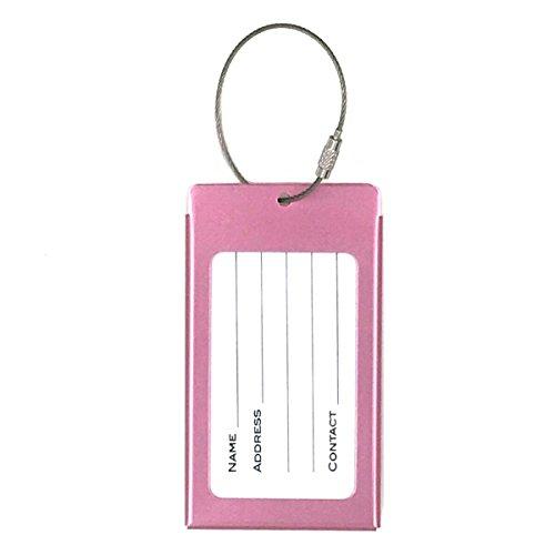 Tapp Collections Kofferanhänger Visitenkartenhalter Aus Aluminiumlegierung Model S Pink Pink 43237 2