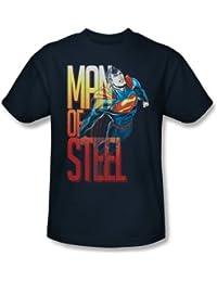 Superman - - Les hommes de T-shirt en acier de vol dans la marine
