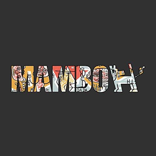 Mambo Raglus Dog Women's Sweatshirt Charcoal