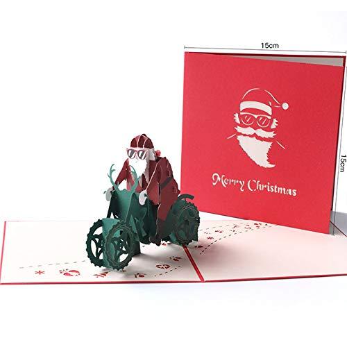 3D-Geschenkkarte Pop-Up-Karte, Gruß, handgemacht, Geburtstag, Blumenkarte, Muttertag, Hochzeit, Dankeskarte, Einladungskarte, Weihnachten, Halloween, Abschlussfeier
