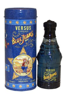 Versus Blue Jeans by Versace for Men - 2.5 oz EDT Spray