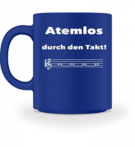 Atemlos durch den Takt - für alle Chor Sängerinnen und Sänger und Blasmusik Blechbläser - Tasse