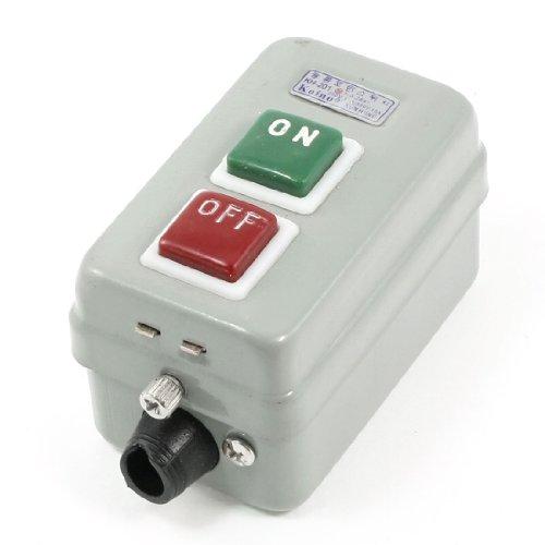 sourcing map AC 380V 15A/aus 3 Phasen 3P selbstsichernde Power Leistung Druckschalter de DE de -