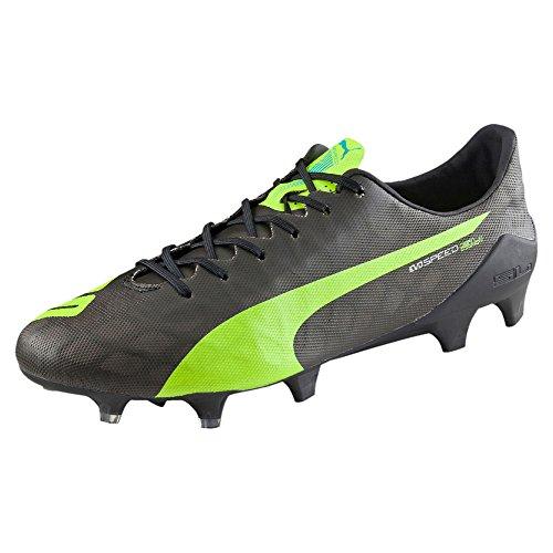 Puma Evospeed Sl Fg, Chaussures de football homme noir/jaune
