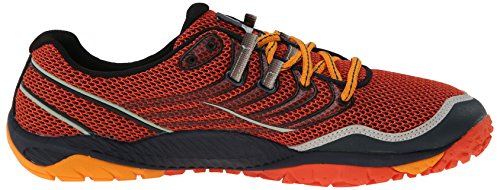 Merrell Trail Glove 3, Chaussures de trail homme Orange (Spicy Orange/Navy)