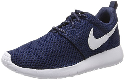 NIKE Roshe One GS, Scarpe da Ginnastica Bambino, Blu (Midnight Navy/White/Gym Blue/Black), 40 EU