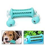 Hihey Perros Pecho Cachorro Perro Juguete Inteligencia para Perros pequeños Medianos Juego de Caucho Natural no tóxico