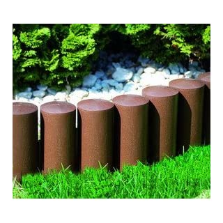 Amazon.de Pflanzenservice Flower bed edging, set of 24 elements, 7 m