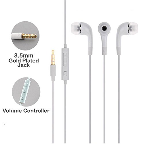 Samsung YR Earphone Headsets With Mic and Volume Control For Galaxy J7 max and Some Android Smartphones