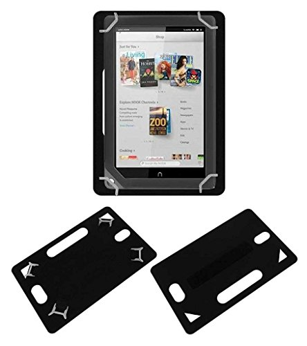 Acm Leather Back Hand Case for Barnes & Noble Nook Hd+ 9