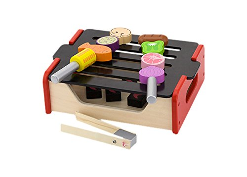VIGA NCT 1220 - Küchenspielzeug - Holzkohlegrill