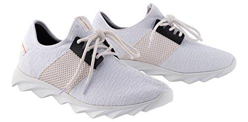 TAMBOGA Unisex Low Sneaker Textil Schuh LEWIS Nr.1629 Weiß