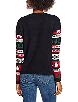 New Look Women's Fairlisle Xmas Jumpers