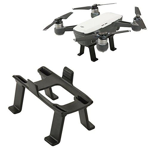 Flycoo Landing Gear für DJI Spark Drone - Beinhöhe Extender Stabilisatoren Drohne Zubehör Fahrgestell Landegestell Gestell (Schwarz) - Fahrgestell