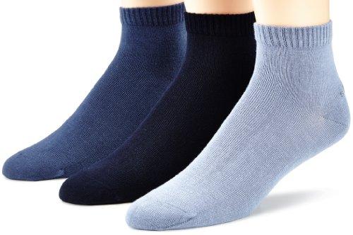 s.Oliver Unisex - Erwachsene Socke 3 er Pack, S21001, Gr. 39-42, Blau (75 smoked blue, stone navy)