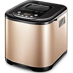Yabano Machine à Pain 21 Programmes Acier Inox Pour Yaourt, Pain Sans Gluten, 15H, 1kg, 650W