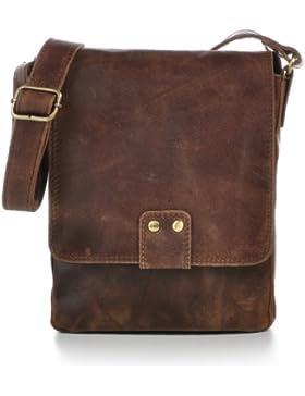URBAN FOREST, Cntmp, Unisex, Leder, Messenger, Freizeit Taschen, Business Bags, Aktentaschen, Überschlagstaschen...
