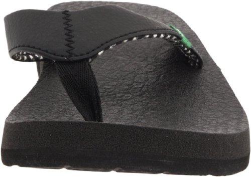 Sanuk Yoga Mat 29418063, Infradito donna Ebony